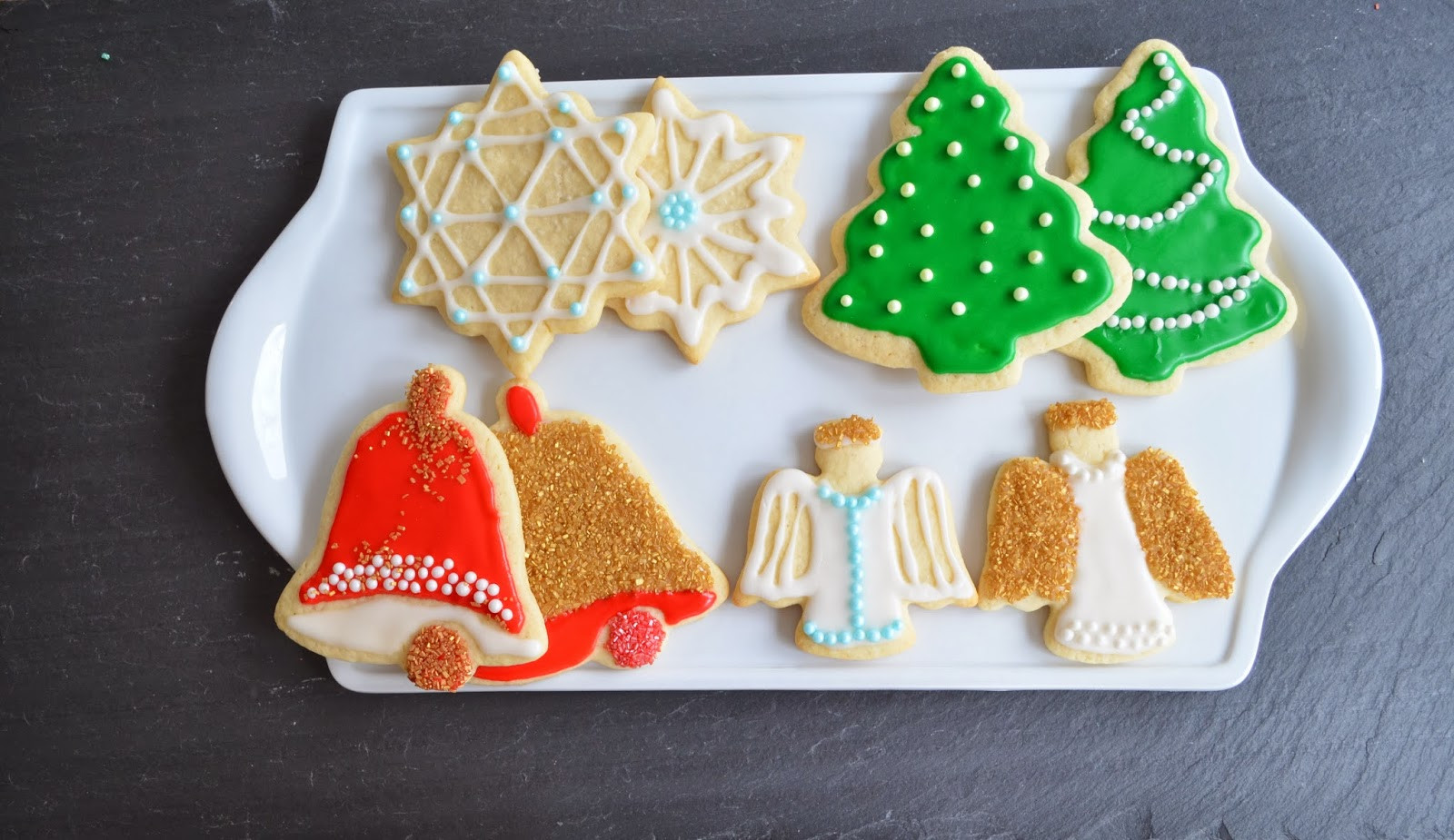 Beautiful Christmas Cookies  Smell of Rosemary a blog about great food great recipes