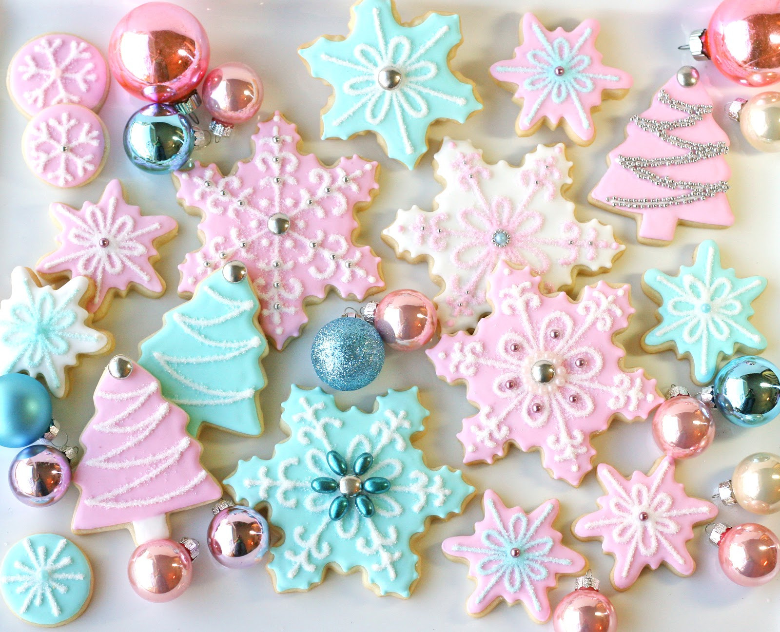 Beautiful Christmas Cookies  Christmas Cookies Galore Glorious Treats