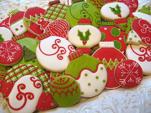 Beautiful Christmas Cookies  Festive Xmas Cookie s and for