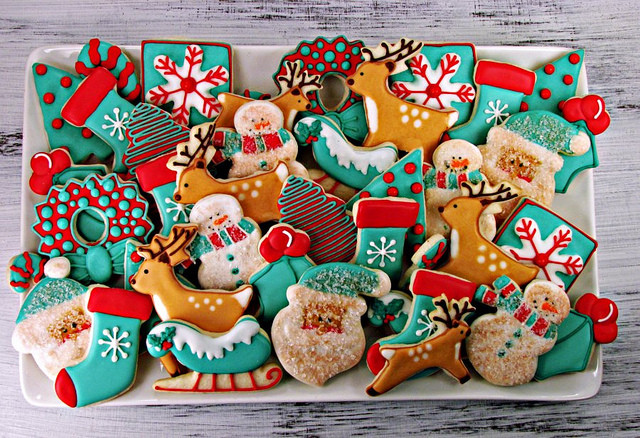 Beautiful Christmas Cookies  christmas sugar cookies