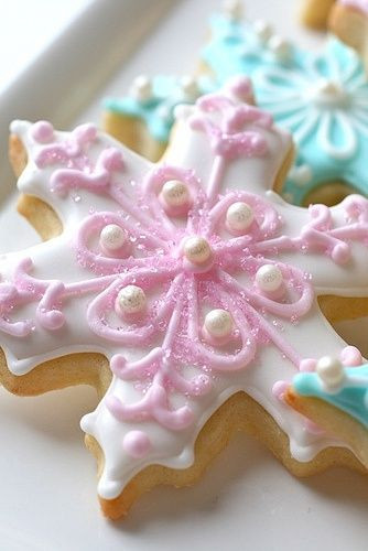 Beautiful Christmas Cookies  Pinterest