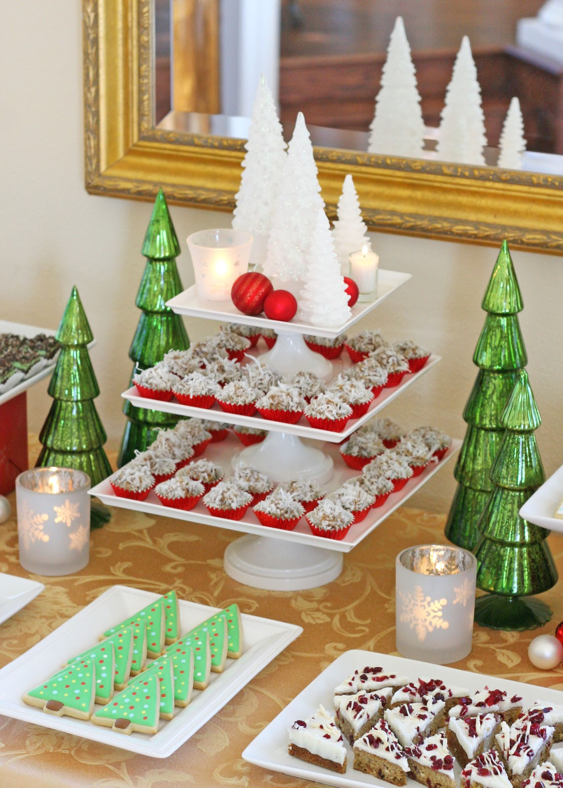 Beautiful Christmas Desserts  Classic Holiday Dessert Table Glorious Treats