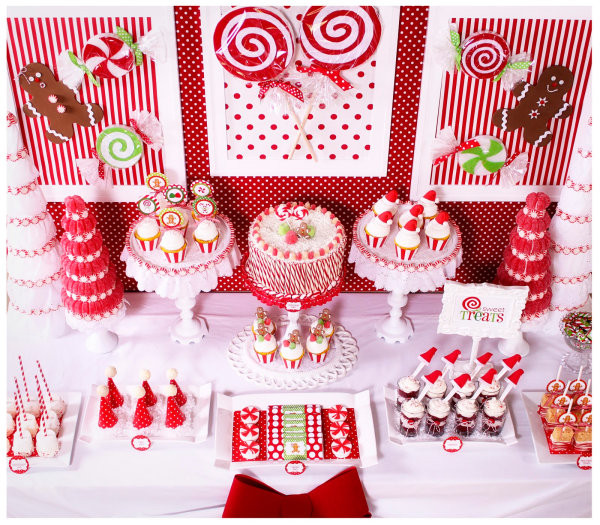 Beautiful Christmas Desserts  The Beautiful Plate Holiday Food Presentation Tips