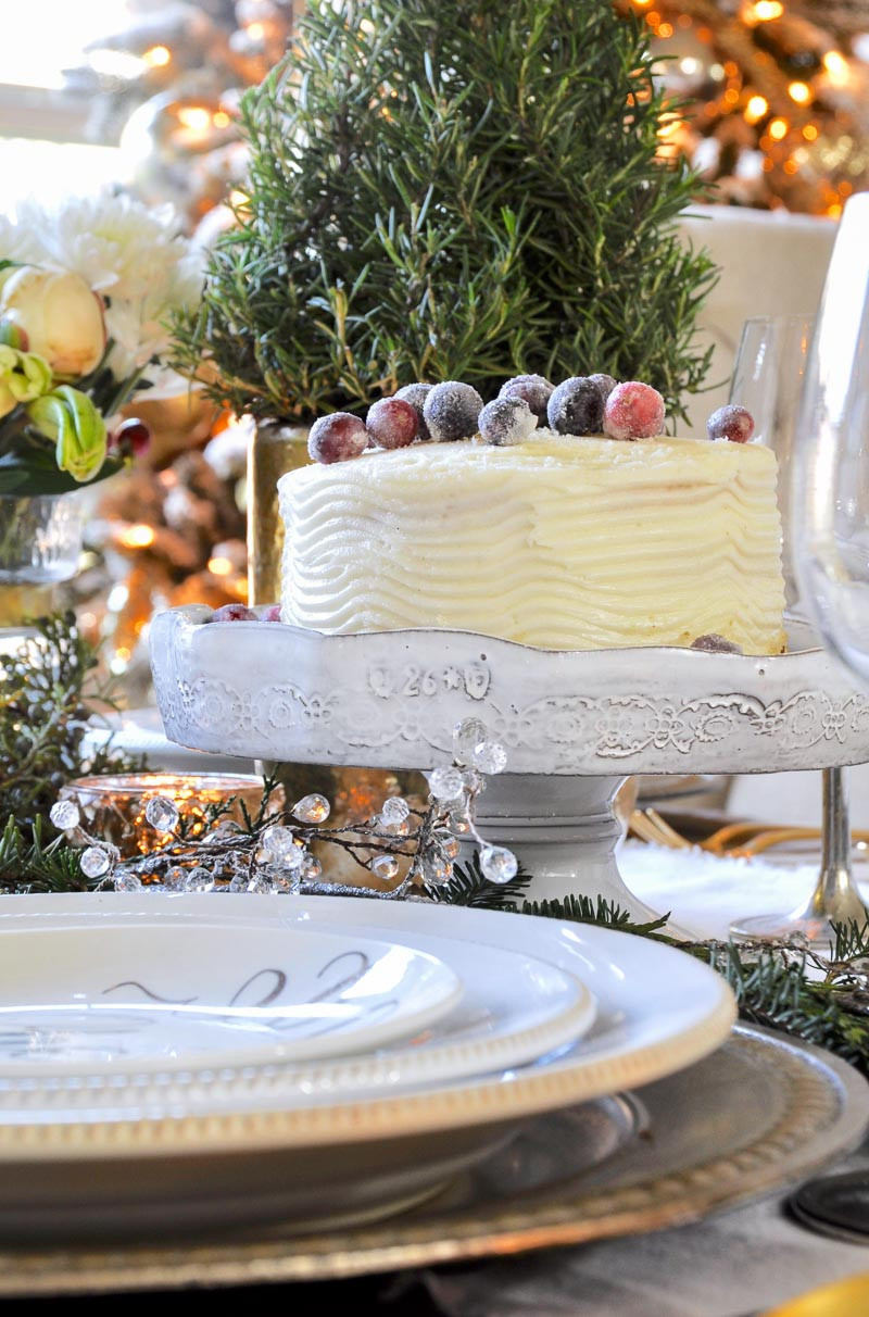 Beautiful Christmas Desserts  Christmas Decorating Tips Featuring Decor Gold Designs