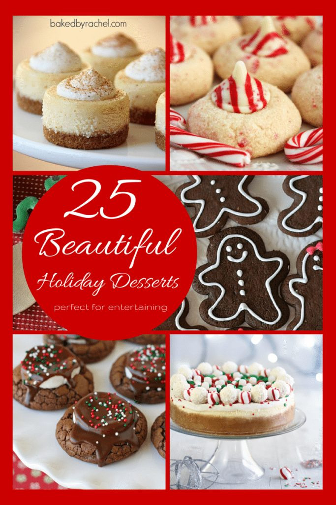 Beautiful Christmas Desserts  25 Beautiful Holiday Desserts My Crazy Good Life