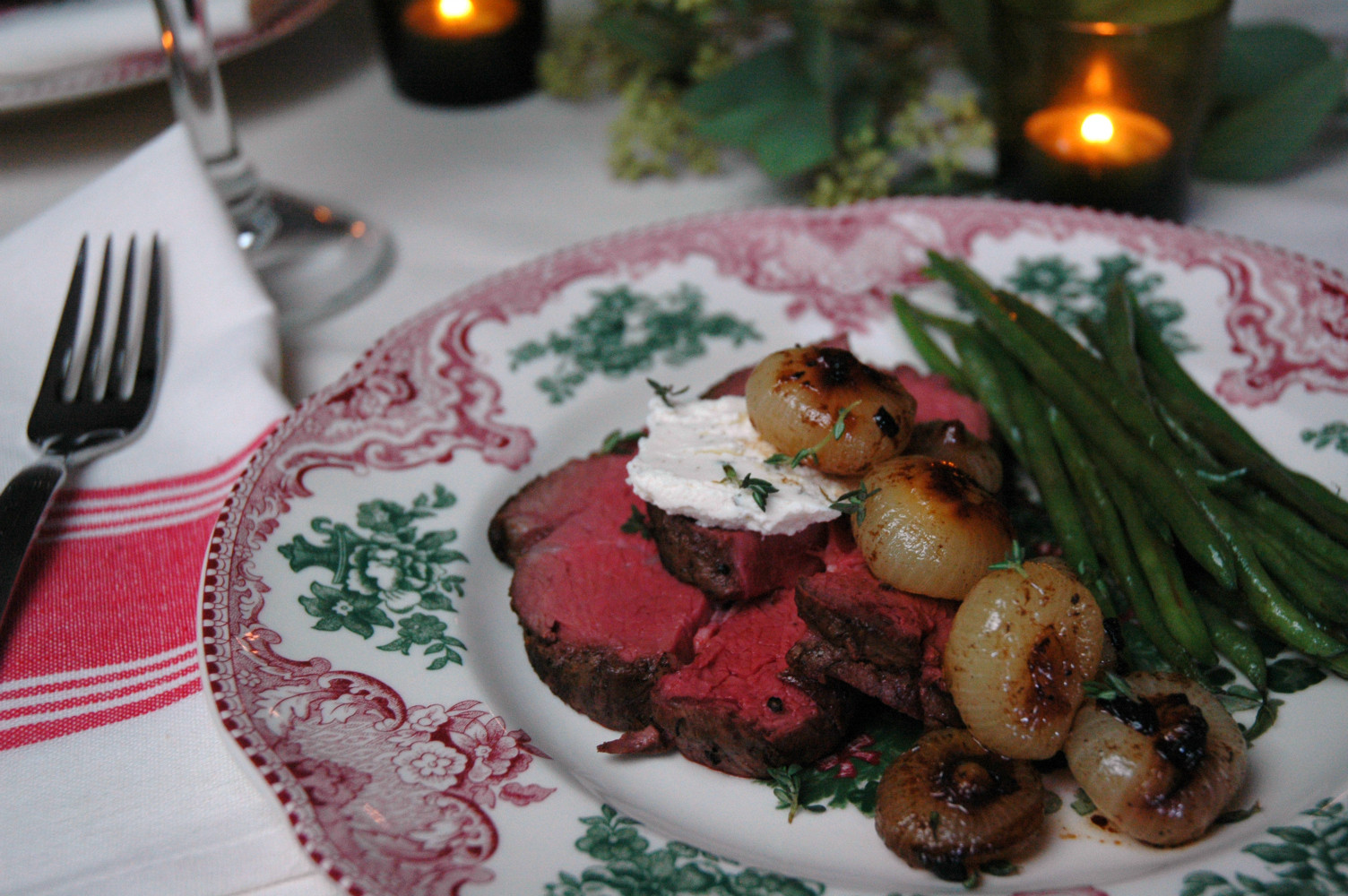 Beef Tenderloin Christmas Dinner  Beef Tenderloin With Braised ions For Your Holiday
