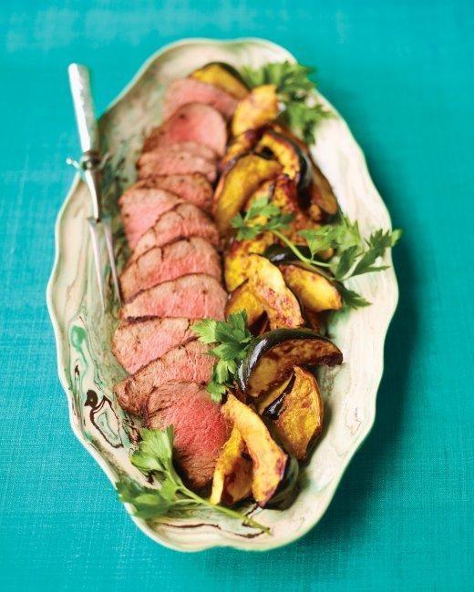 Beef Tenderloin Christmas Dinner  Pepper Crusted Beef Tenderloin Recipe