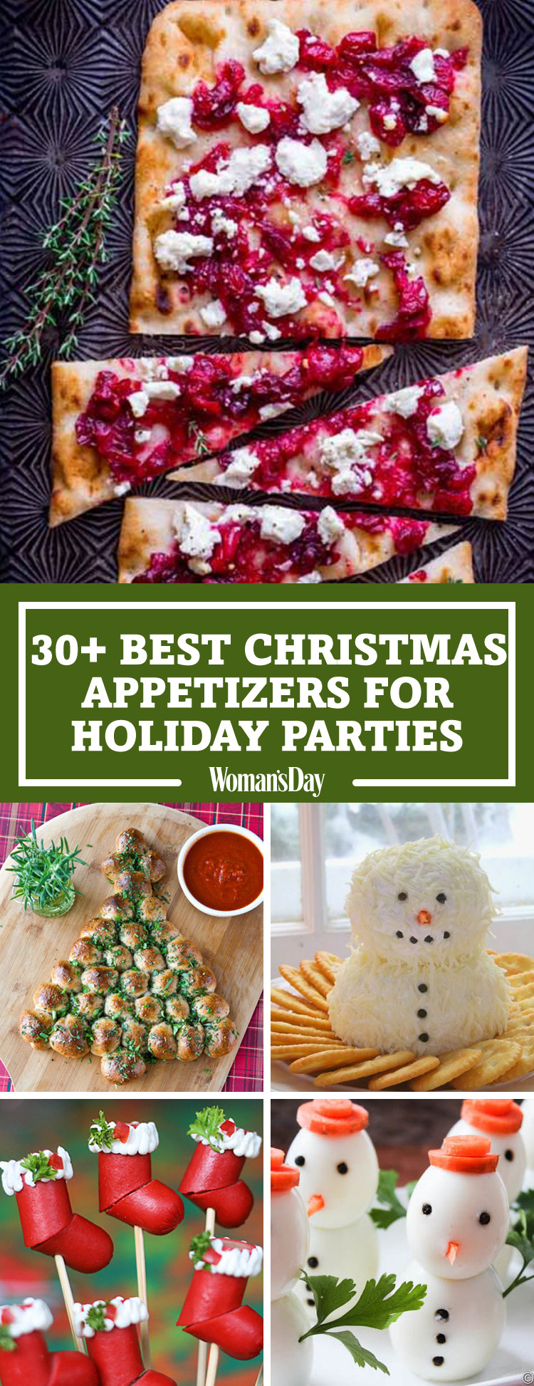 Best Appetizers For Christmas Party  30 Easy Christmas Party Appetizers Best Recipes for