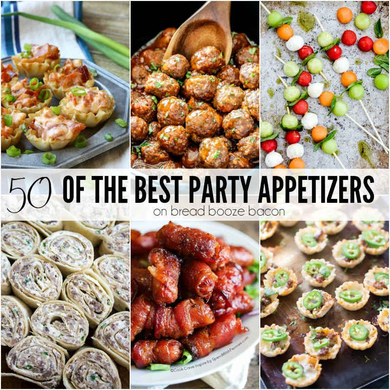 Best Appetizers For Christmas Party  50 of the Best Party Appetizers Bread Booze Bacon