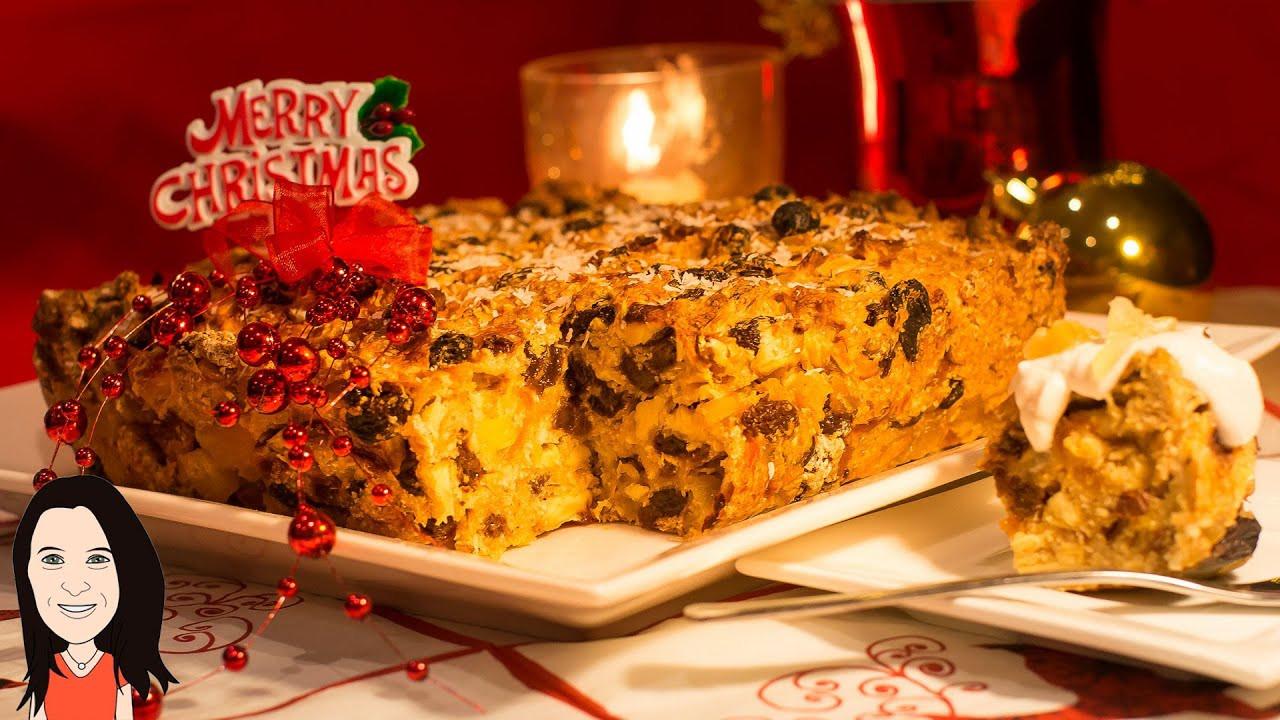 Best Christmas Cake Recipe  Best Ever Eggless Christmas Fruit Cake Amazing Vegan