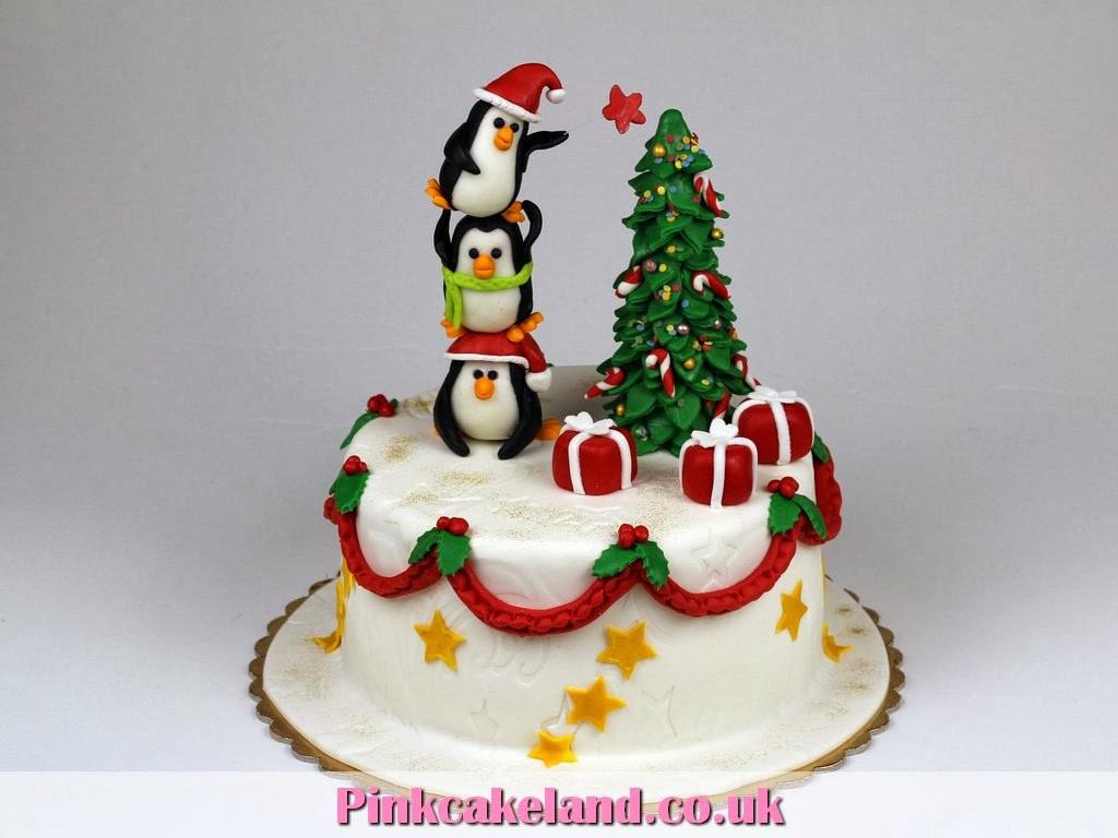 Best Christmas Cakes  Best Birthday Cakes in London PinkCakeLand