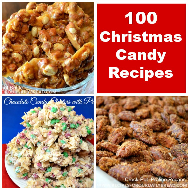 Best Christmas Candy Recipes  BEST CHRISTMAS CANDY RECIPES ROUNDUP