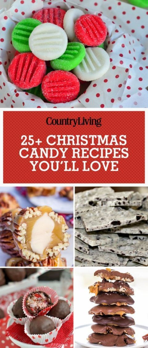 Best Christmas Candy Recipes  Best 25 Easy christmas candy recipes ideas on Pinterest