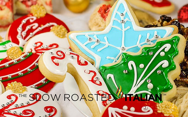 Best Christmas Cookie Icing  Best Tasting Sugar Cookie Icing