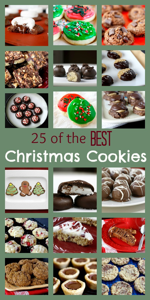 Best Christmas Cookies Ever  25 of the Best Christmas Cookies Ever