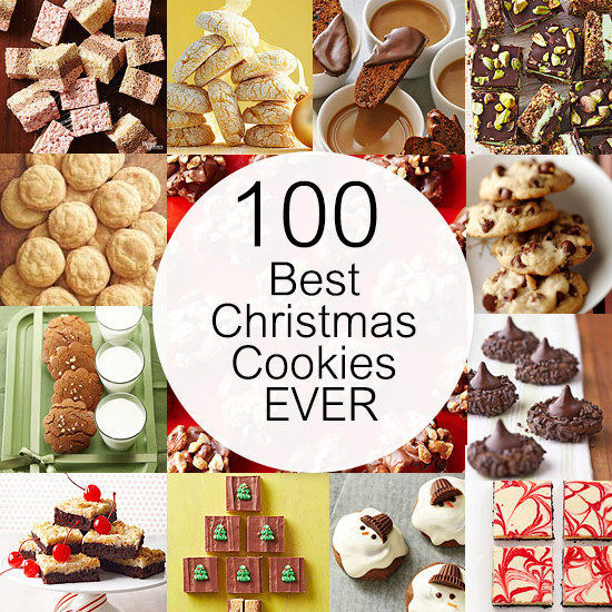 Best Christmas Cookies Ever  100 Best Christmas Cookies EVER