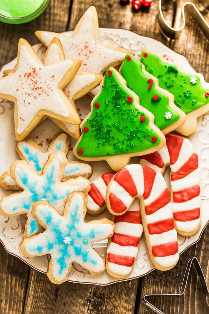 Best Christmas Cookies To Freeze  The Best Sugar Cookie Recipe for Cut Out Shapes