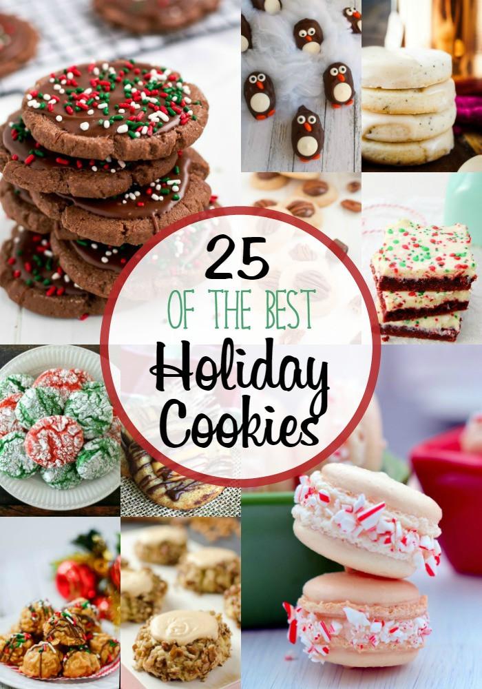 Best Christmas Cookies To Make  25 BEST HOLIDAY COOKIES