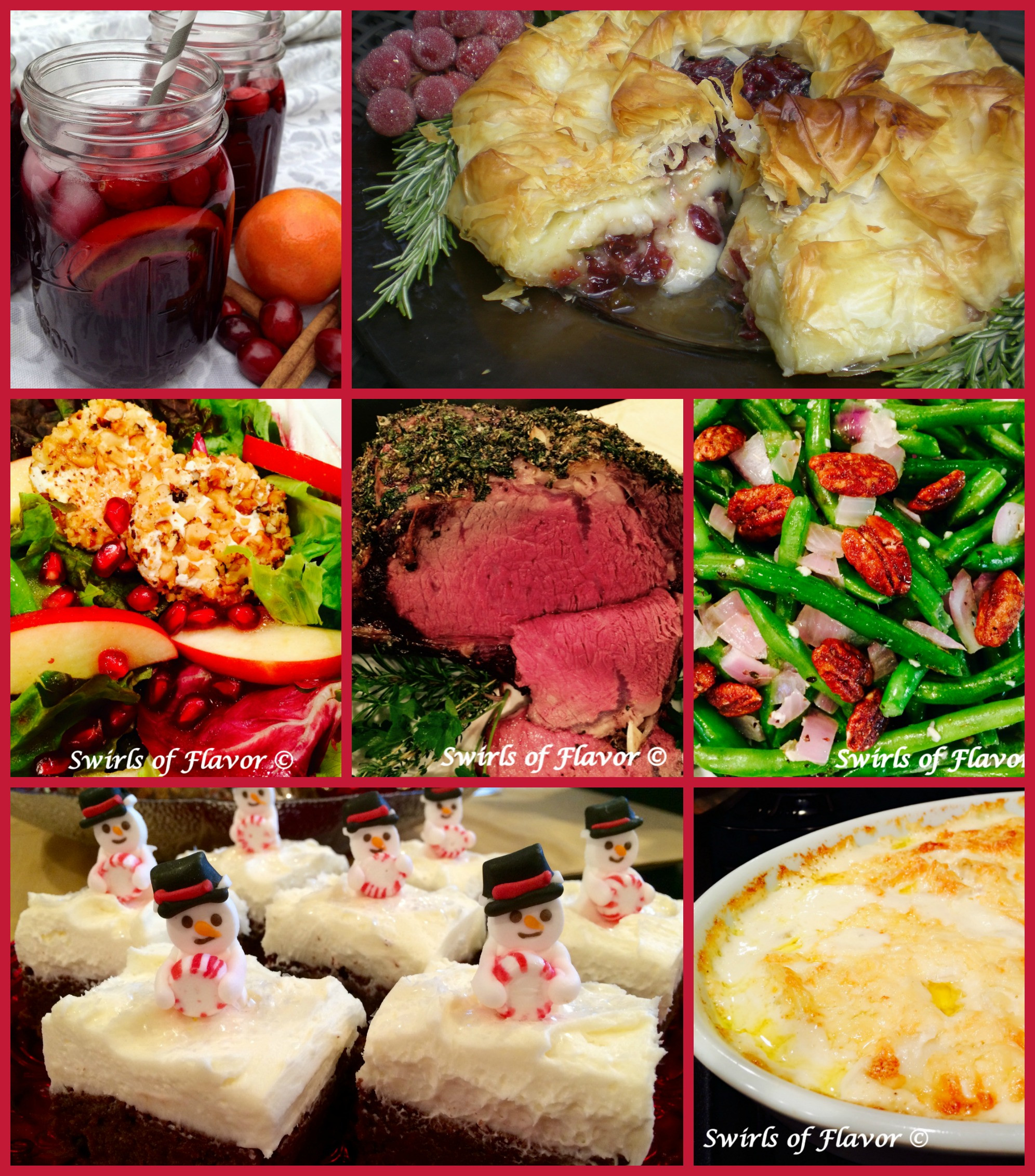 Best Christmas Dinners  Best Ever Christmas Dinner Recipes Swirls of Flavor