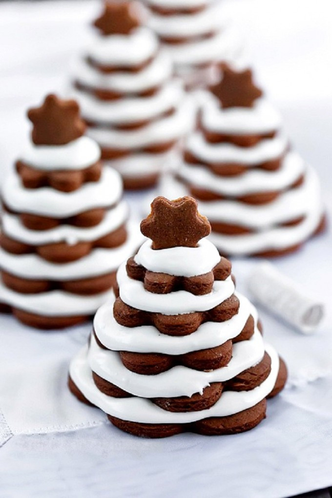 Best Christmas Party Desserts  Simple Christmas Tree Cookies – Best Funny Dinner Party