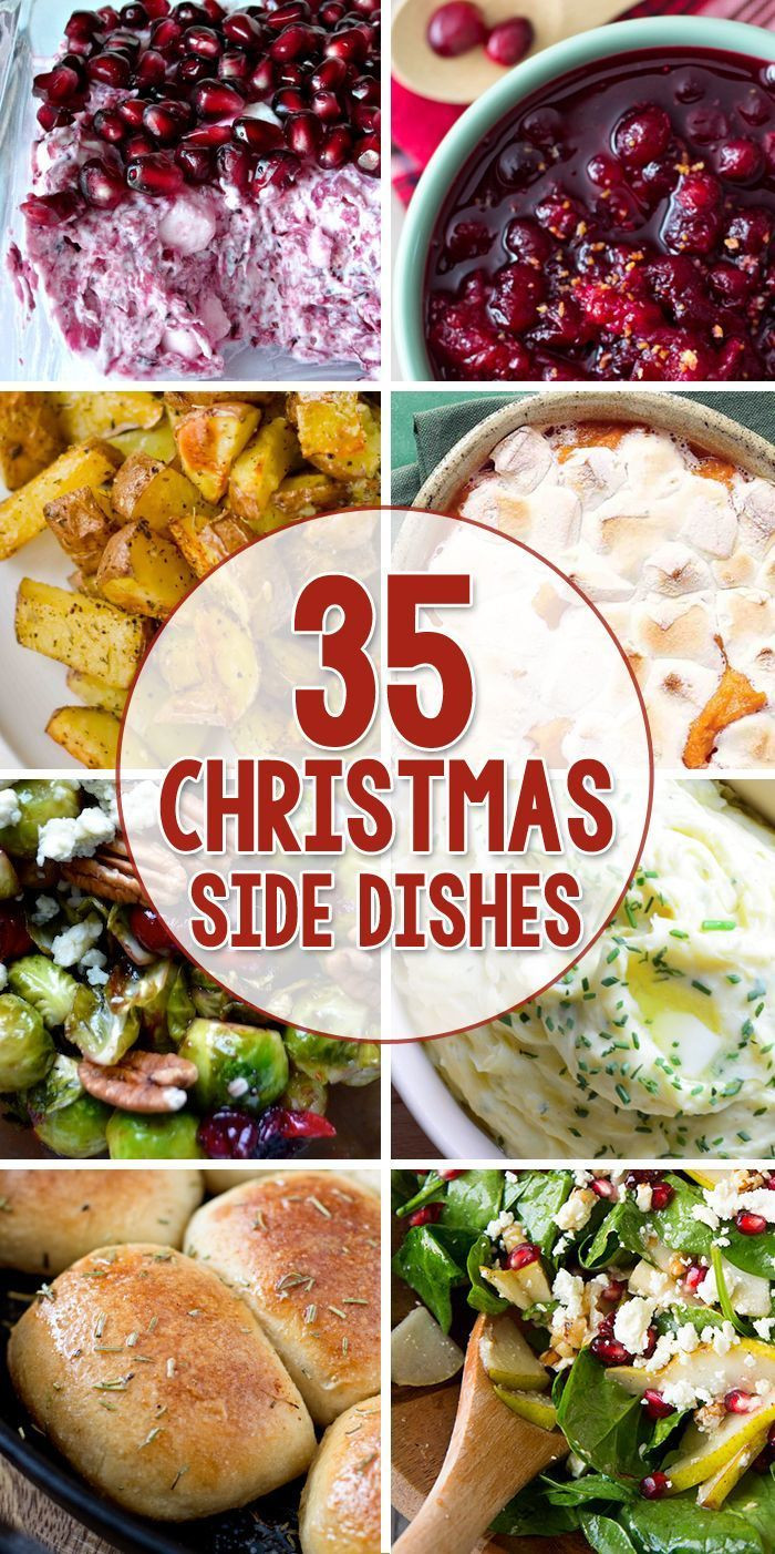 Best Christmas Side Dishes  Best 25 Christmas dinner menu ideas on Pinterest
