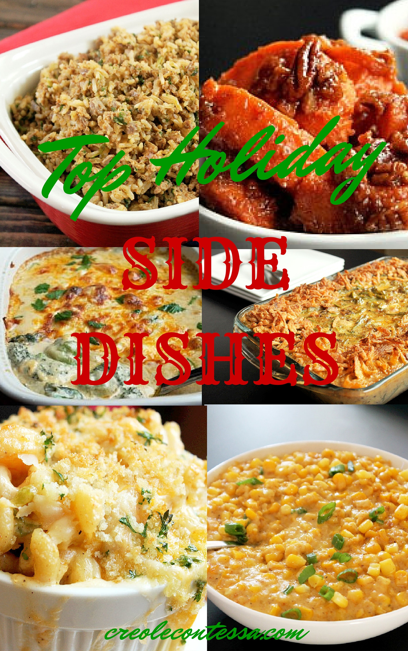 Best Christmas Side Dishes  Holiday Side Dishes Creole Contessa