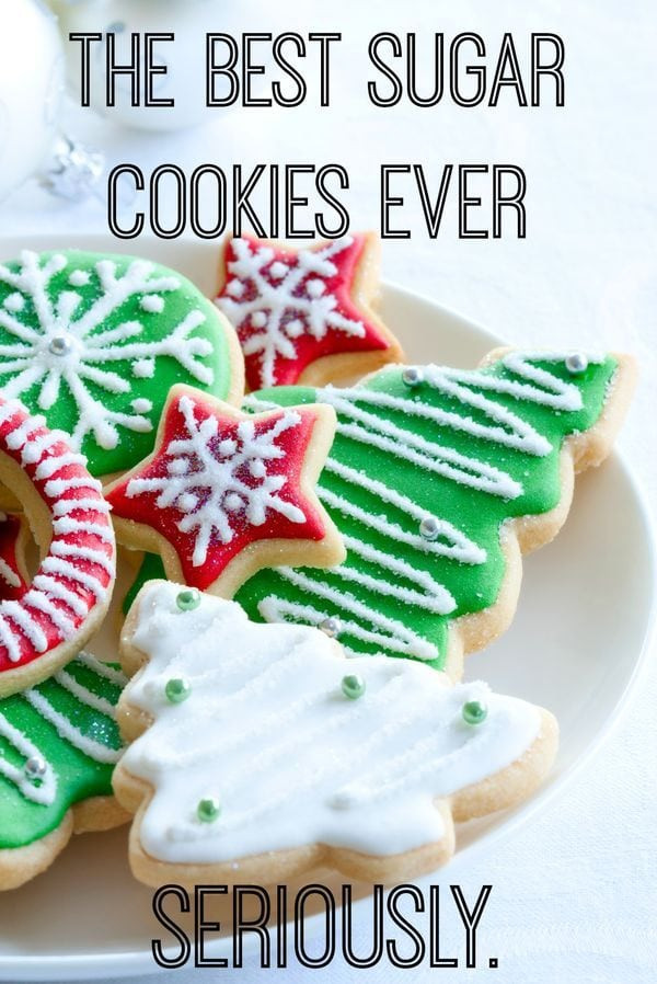Best Christmas Sugar Cookies  29 Easy Christmas Cookie Recipe Ideas & Easy Decorations