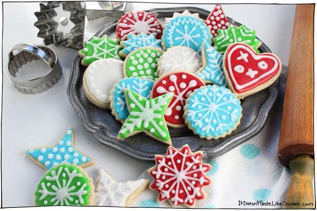 Best Christmas Sugar Cookies  Perfect Vegan Sugar Cookies • It Doesn t Taste Like Chicken