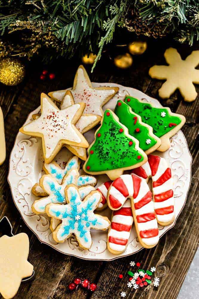 Best Christmas Sugar Cookies  The Best Sugar Cookie Recipe for Cut Out Shapes