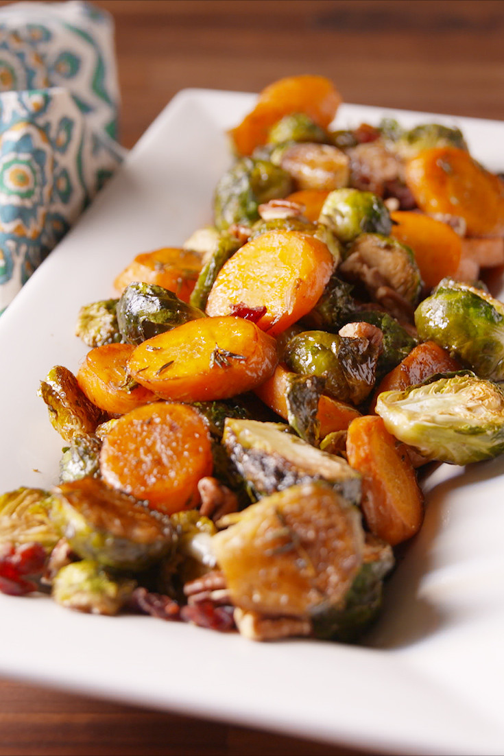 Best Christmas Vegetable Side Dishes  Best Roasted Ve able Medley Recipe How To Make Roasted
