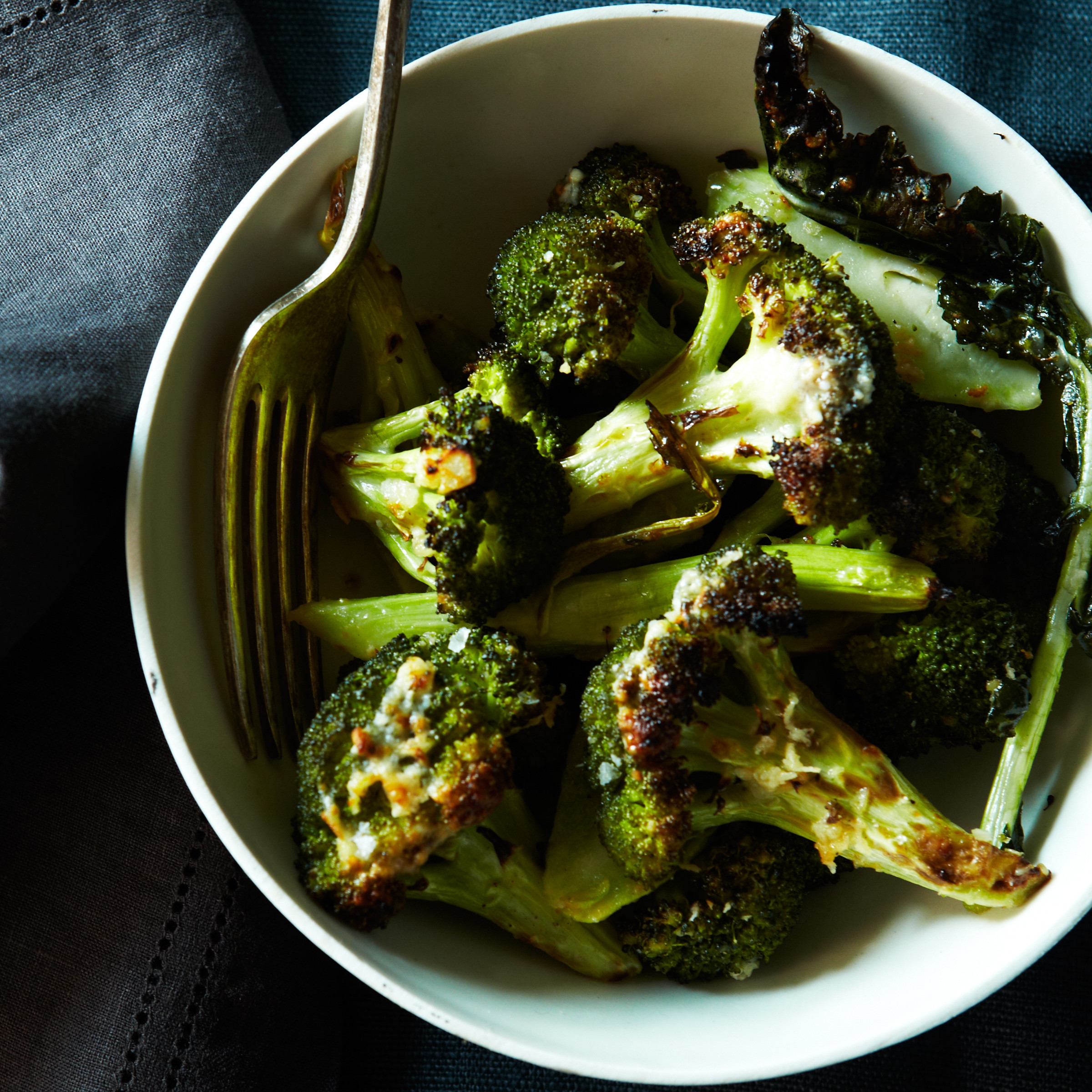 Best Christmas Vegetable Side Dishes  Roasted Garlic Parmigiano Broccoli Recipe Grace Parisi