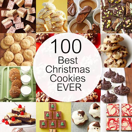 Best Ever Christmas Cookies  100 Best Christmas Cookies EVER