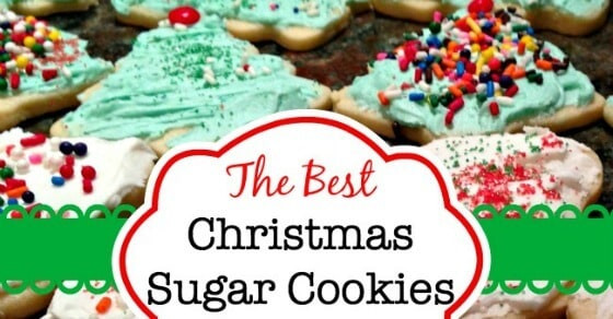 Best Ever Christmas Cookies  The Best Christmas Sugar Cookies EVER Mom 6