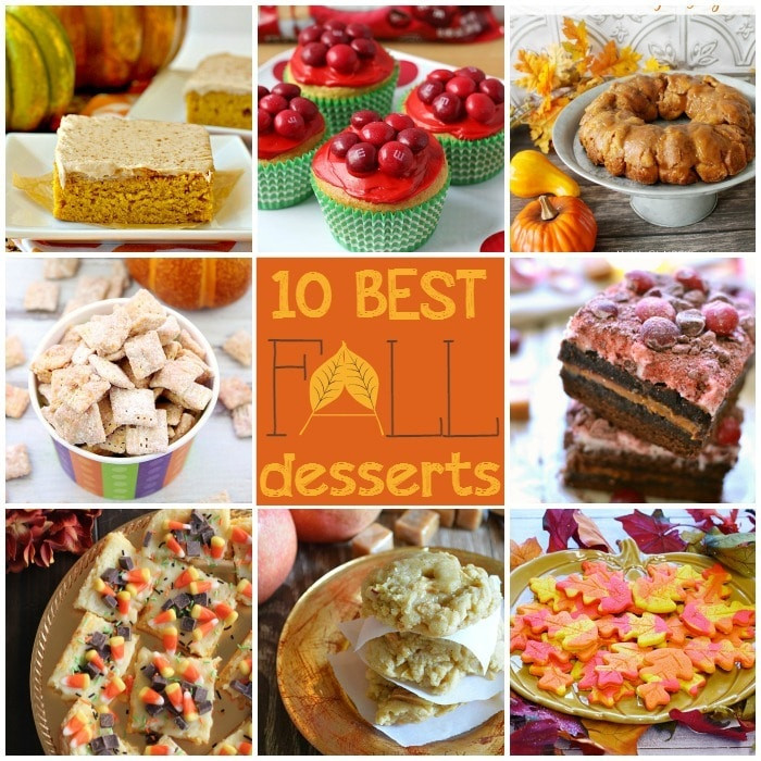 Best Fall Desserts  10 Best Fall Desserts Somewhat Simple
