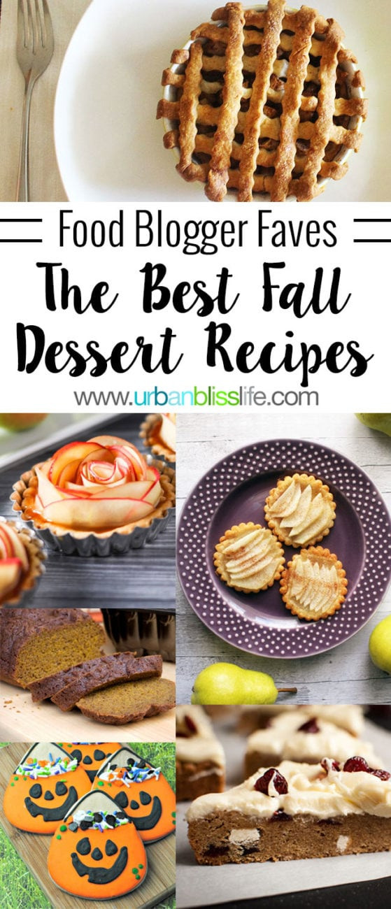 Best Fall Desserts  best fall dessert recipes pies cakes cookies