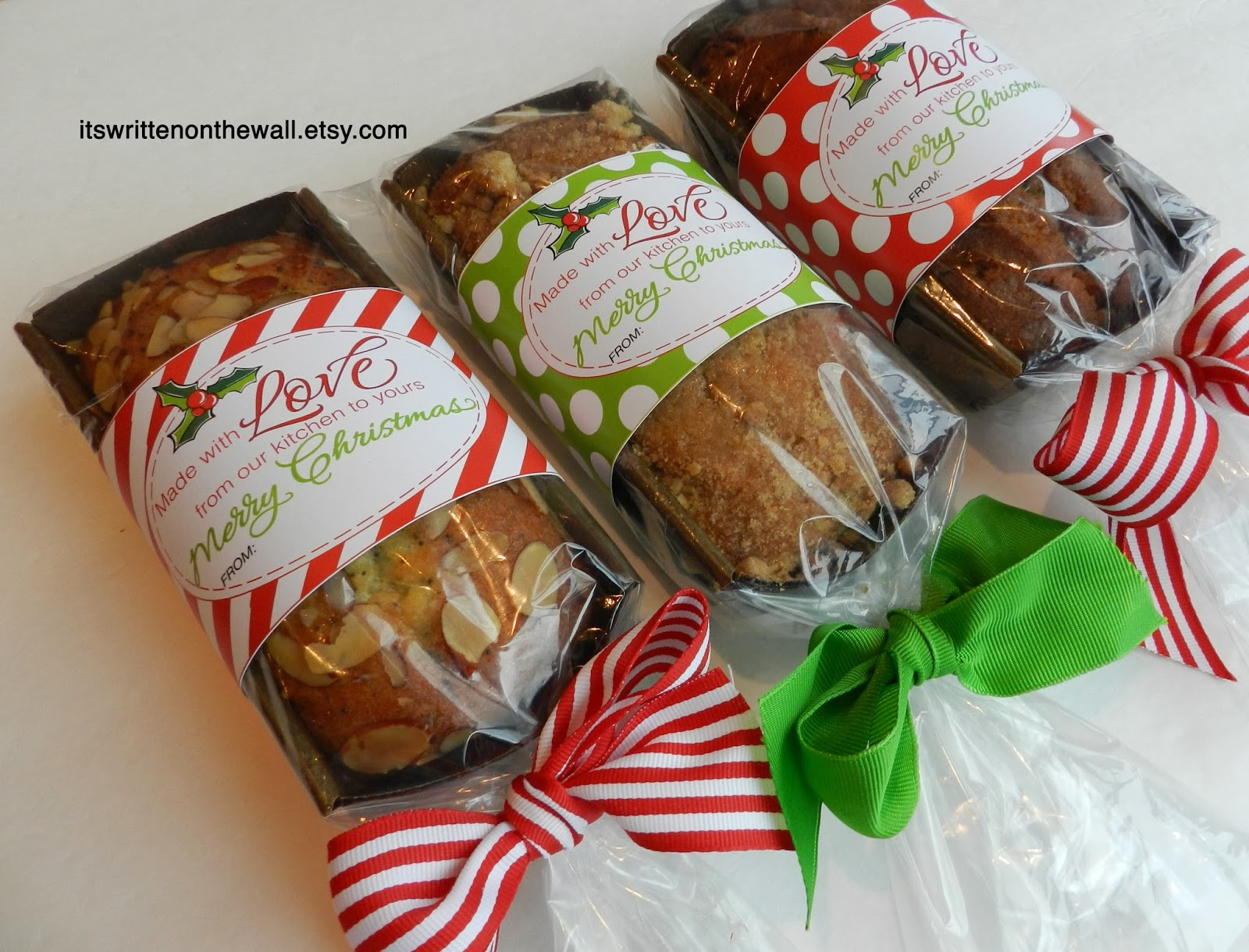 Best Food Gifts For Christmas  It s Written on the Wall Add a Christmas Tags to your