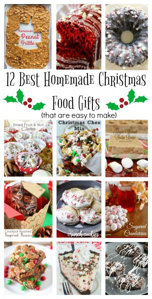 Best Food Gifts For Christmas  Homemade Food Gifts 12 Days of Christmas Day 2 Life
