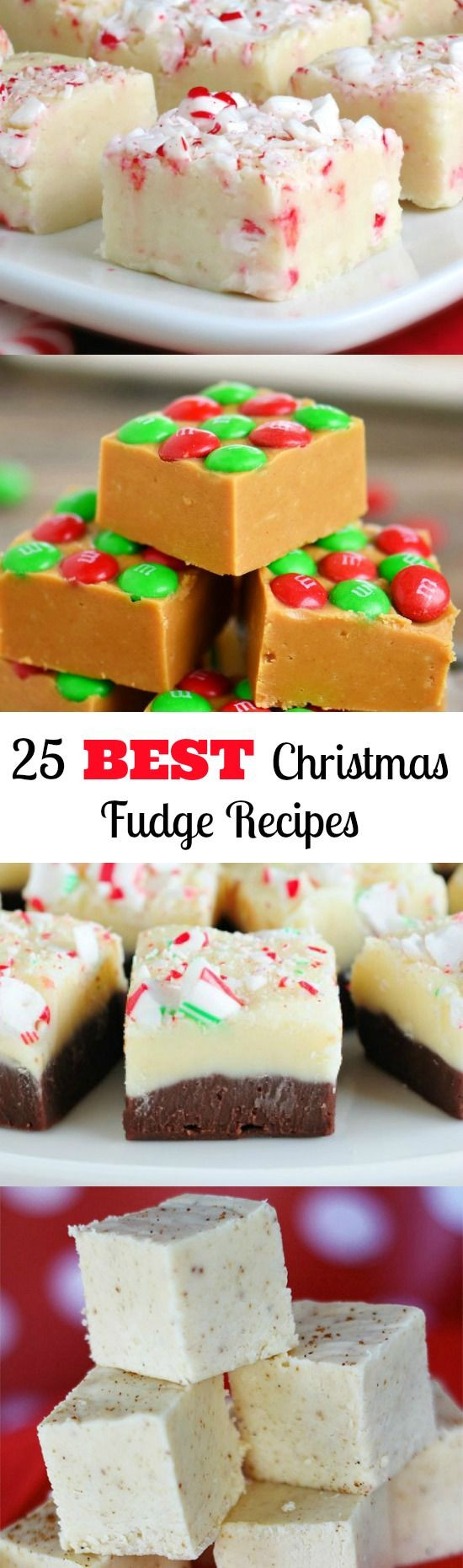 Best Fudge Recipes For Christmas  17 Best ideas about Christmas Goo s on Pinterest