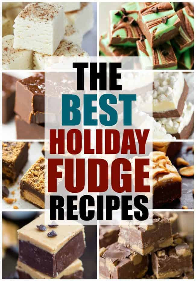 Best Fudge Recipes For Christmas  The Best Holiday Fudge Recipes
