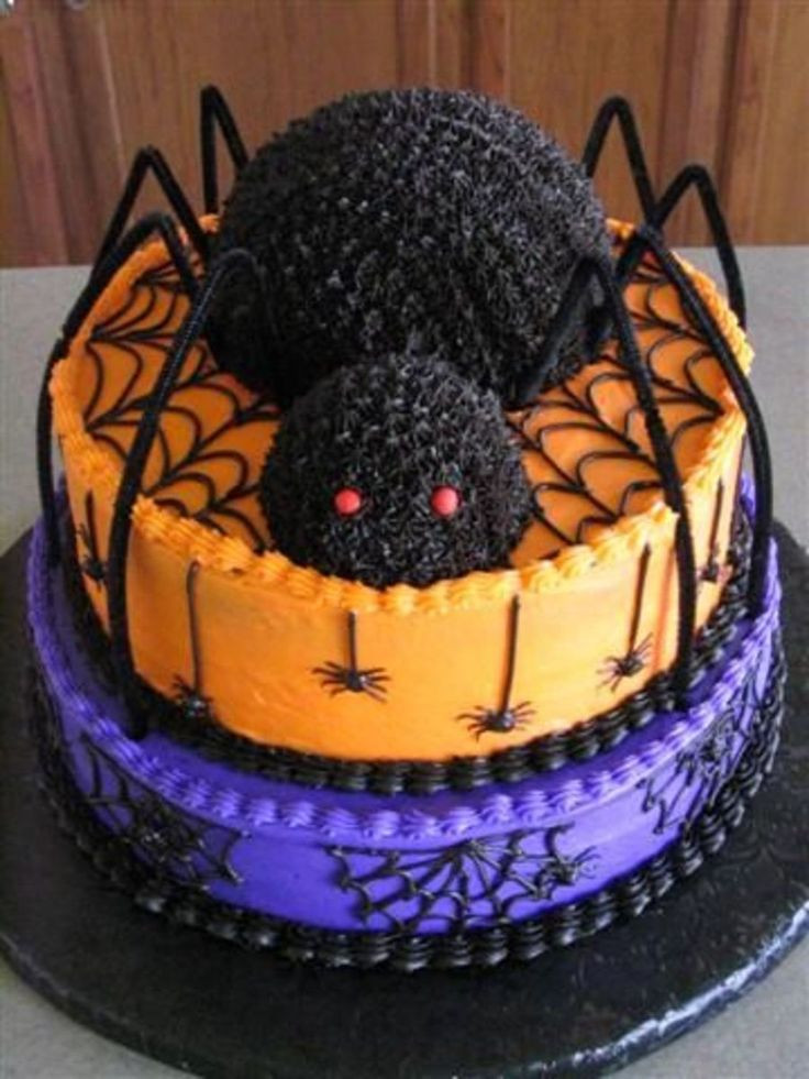 Best Halloween Cakes  Best 25 Spider cake ideas on Pinterest