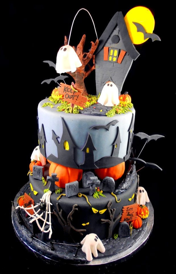 Best Halloween Cakes  Best 25 Halloween cake decorations ideas on Pinterest