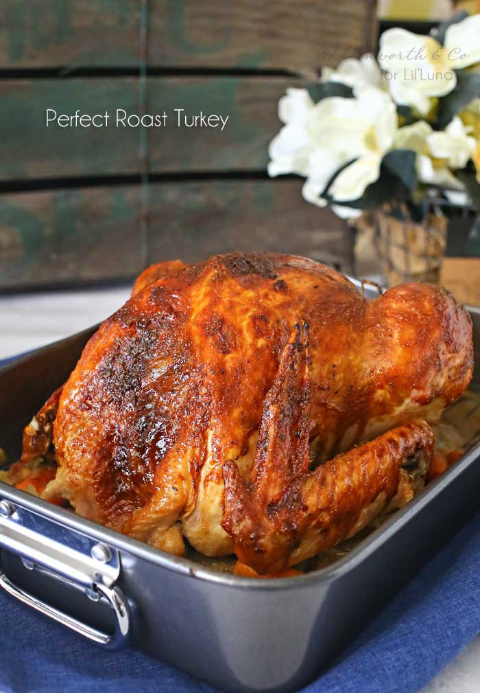Best Roast Turkey Recipe For Thanksgiving  How to Roast a Turkey best recipe Lil Luna