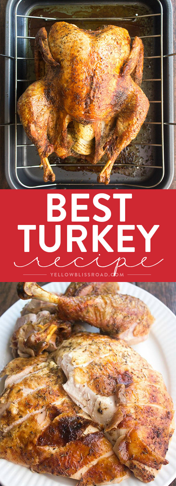 Best Roast Turkey Recipe For Thanksgiving  Best Thanksgiving Turkey Recipe How to Cook a Turkey