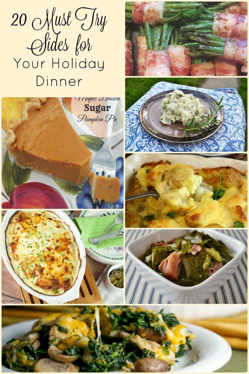 Best Side Dishes For Christmas Dinner  20 Side Dish Recipes for An Amazing Holiday Dinner
