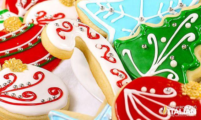 Best Tasting Christmas Cookies  Best 25 Sugar cookie icing ideas on Pinterest