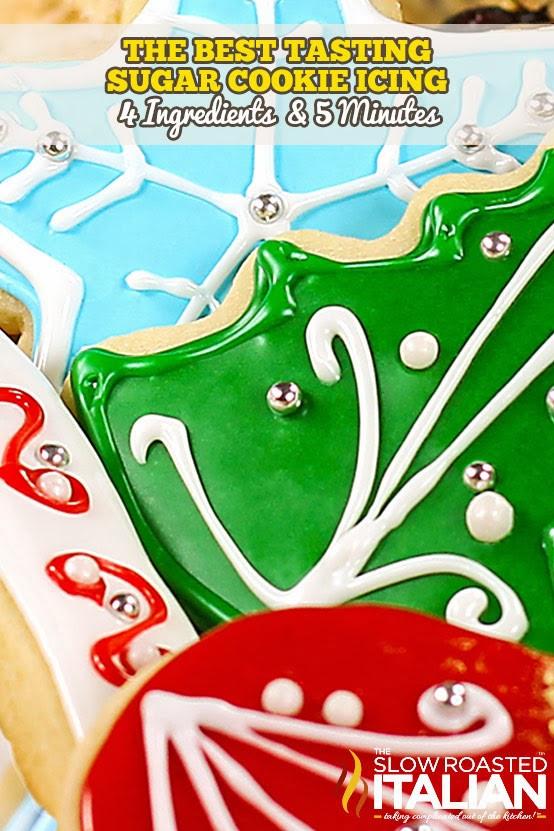 Best Tasting Christmas Cookies  Best Tasting Sugar Cookie Icing