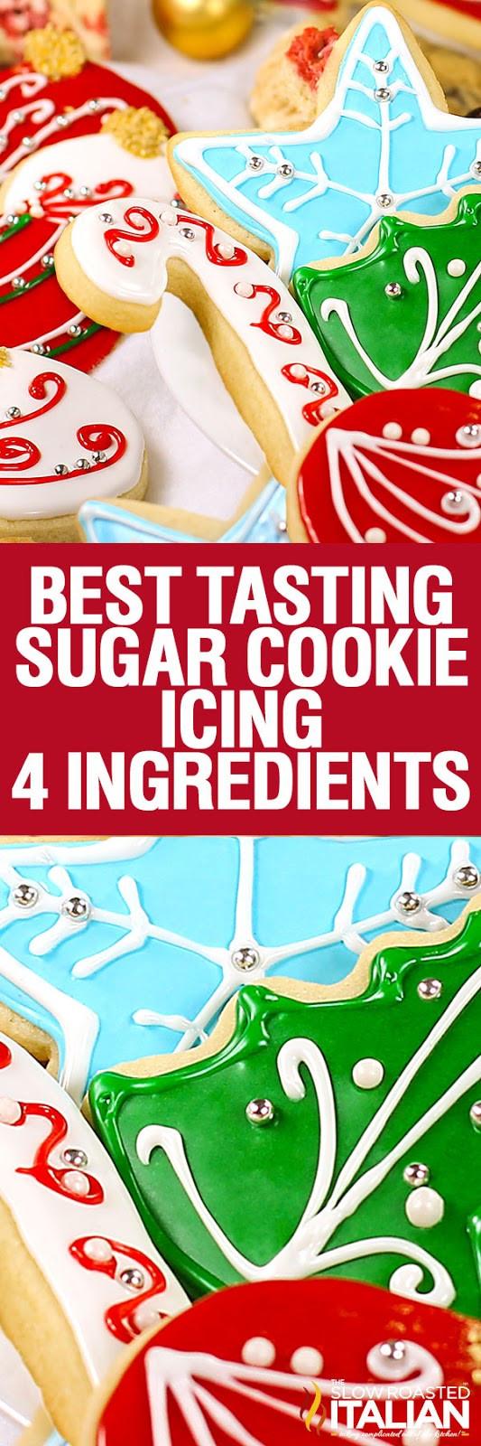 Best Tasting Christmas Cookies  Best Tasting Sugar Cookie Icing With NEW VIDEO