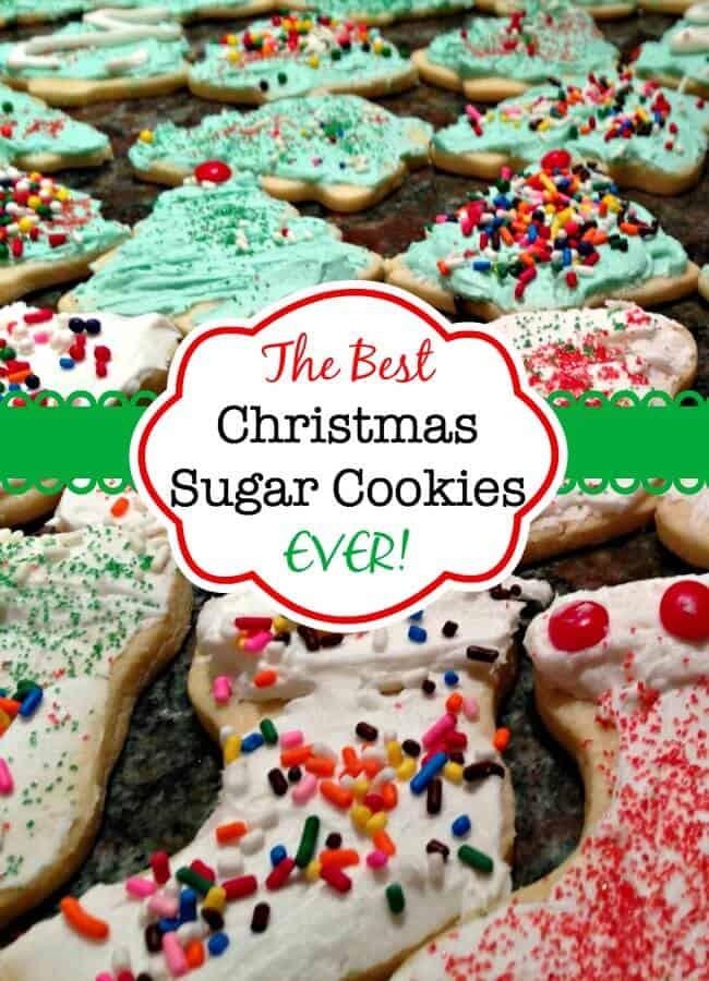 Best Tasting Christmas Cookies  The Best Christmas Sugar Cookies EVER Mom 6