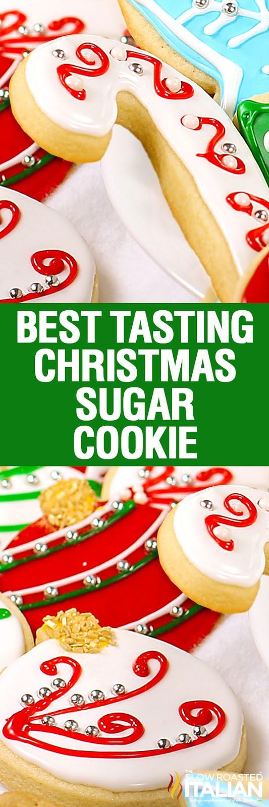 Best Tasting Christmas Cookies  Christmas Sugar Cookies With NEW VIDEO