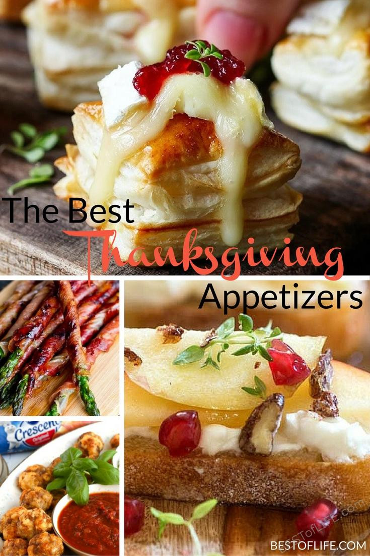 Best Thanksgiving Appetizers Easy  Best Thanksgiving Appetizers Best of Life